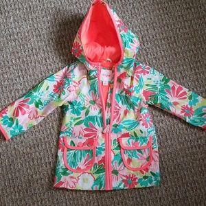 Toddler girls raincoat size 2T